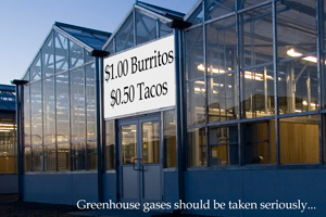 Greenhouse gases should be taken seriously
